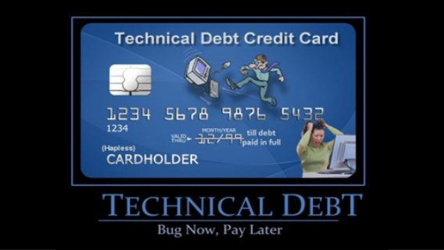 tech debt card