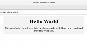 browser window html hello world