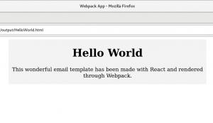 browser window html hello world
